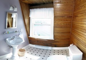 The Harbor Suite Bath - View 1 -- The Harbor Suite features a private bath and shower.