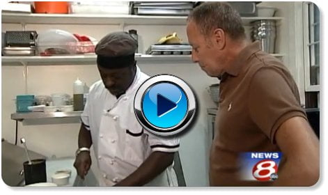 Chef Esau Crosby on WMTW Portland Maine