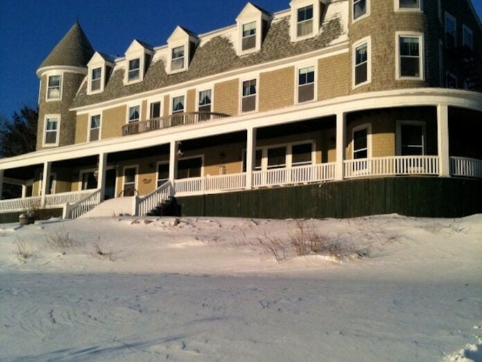 Our Coastal Maine Inn in Winter
