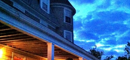 A Quiet Evening at the Grey Havens Inn on the Maine Coast