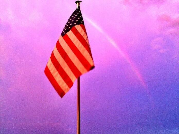 A Rainbow over Harmon's Harbor