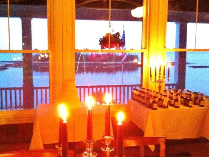 A Maine Ocean View Wedding Reception