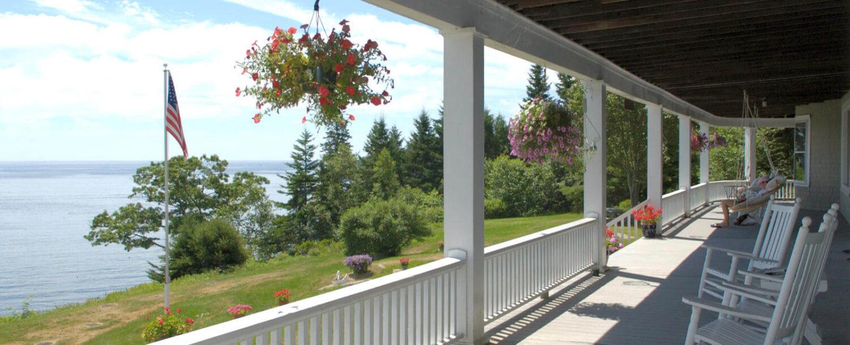 Wraparound Porch - Grey Havens Inn