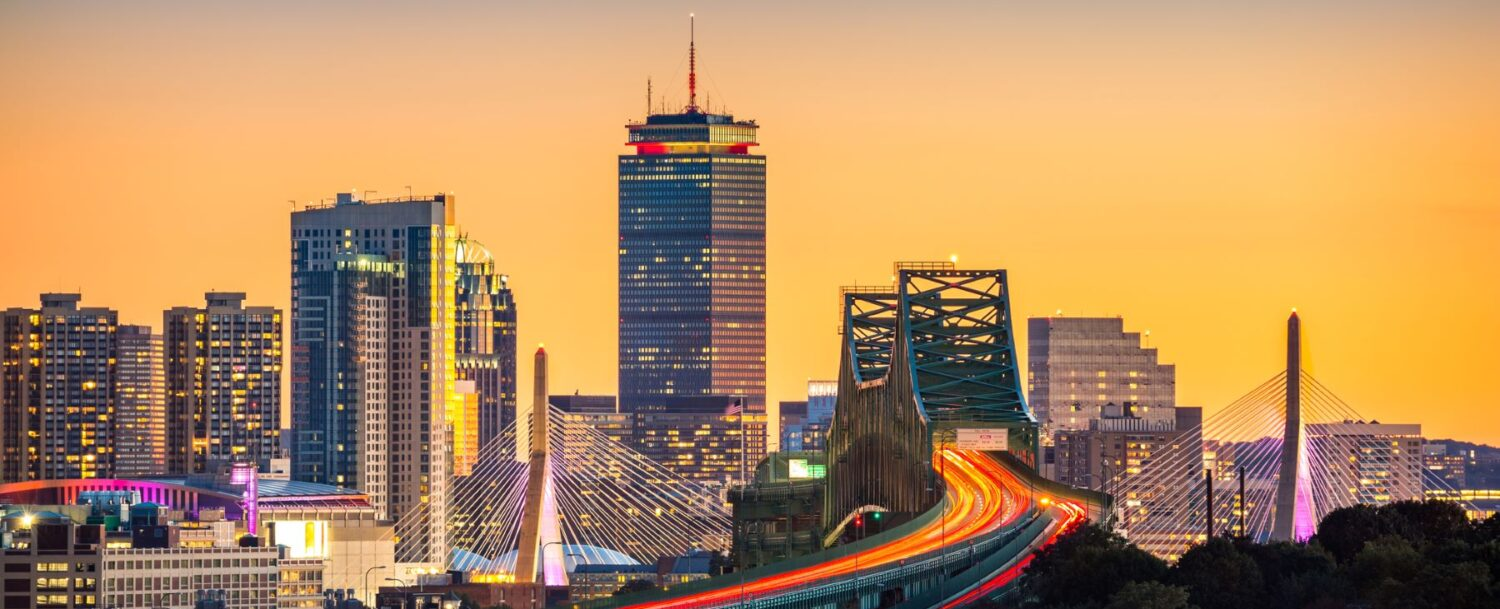 Boston cityscape: how to plan the best trip from Boston to Georgetown, Maine.